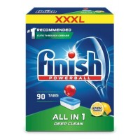 Таблетки для посудомоечной машины Finish All-in-1, 90 шт.