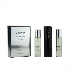 3x20ml Chanel Egoiste Platinum