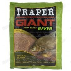 Прикормка Traper Giant River 2.5 кг (река)
