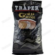 Прикормка Traper Gold Magic Black 1кг (черная)
