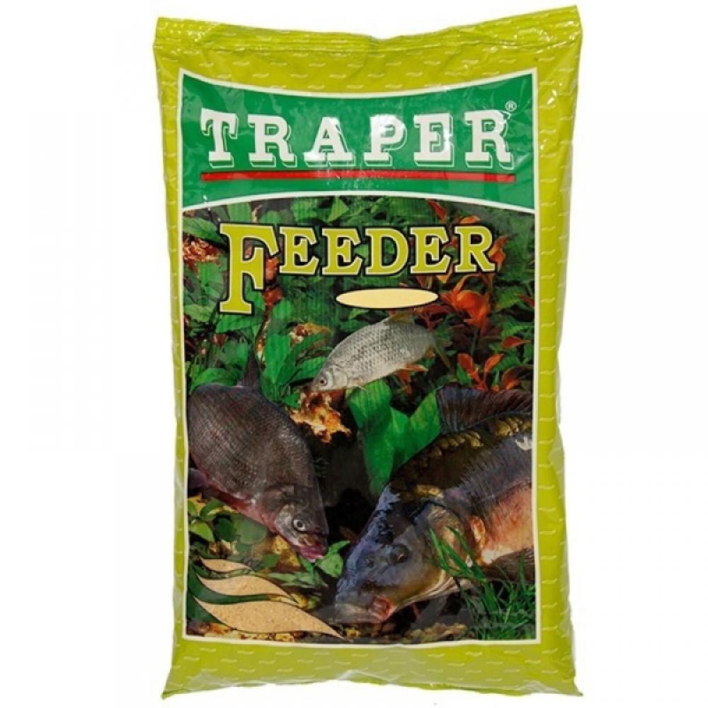 Прикормка Traper Популярная Feeder 1 кг