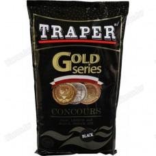 Прикормка Traper Gold Concours Black 1кг (черная)