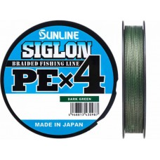 Шнур Sunline Siglon PE х4 150m (темн-зел.)