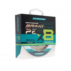 Шнур спининговый FLAGMAN PE X-8 BRAID #0.8 0.148 mm 150m