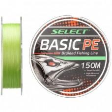 Шнур Select Basic PE X4 150m (салатовый) 0.04mm-0.26mm